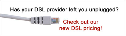 New DSL Pricing